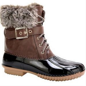 ♡♡COMING SOON♡♡ Vegan Fur Duck Boots